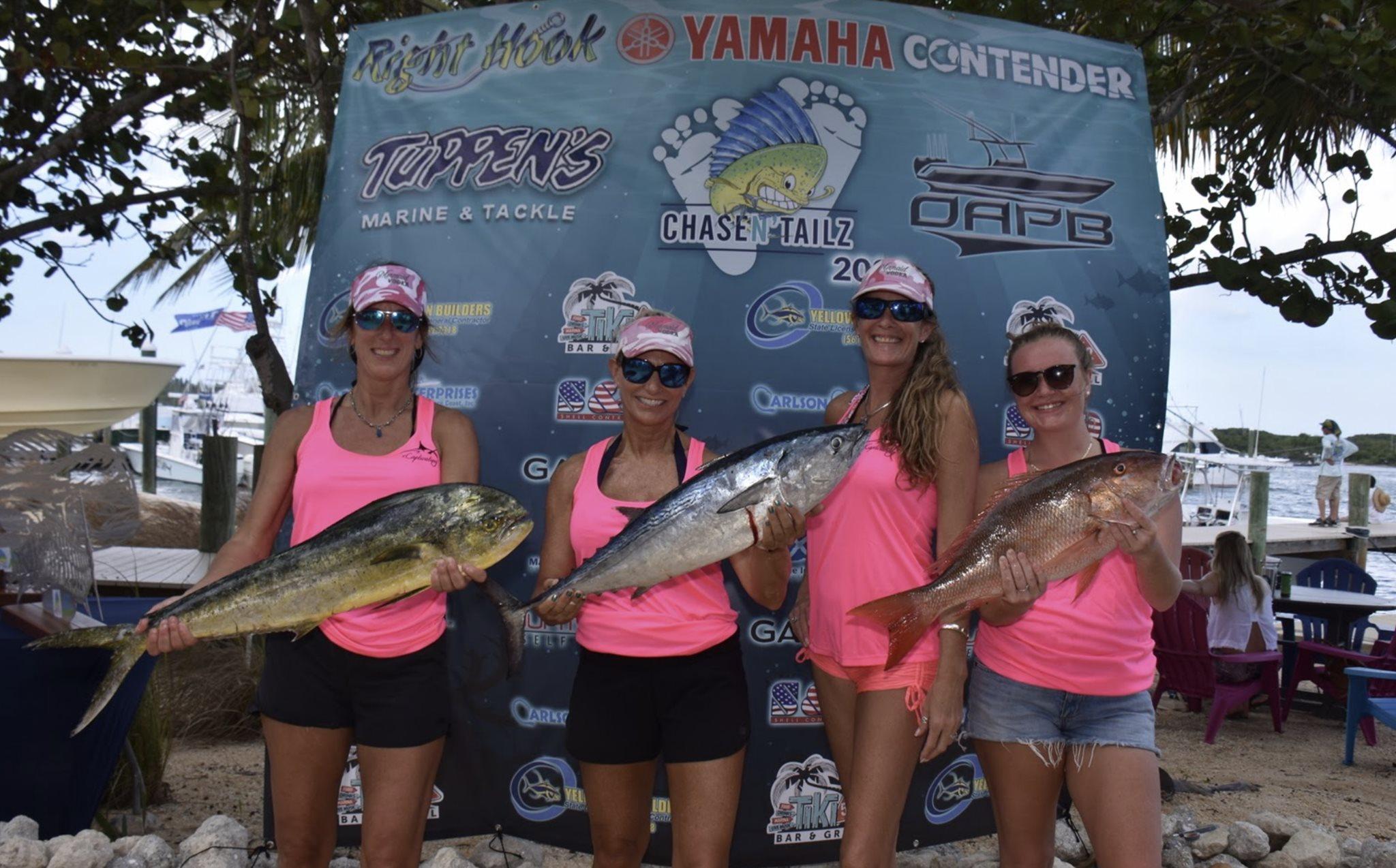 Pink Ladies Atlastrax Fishing Team