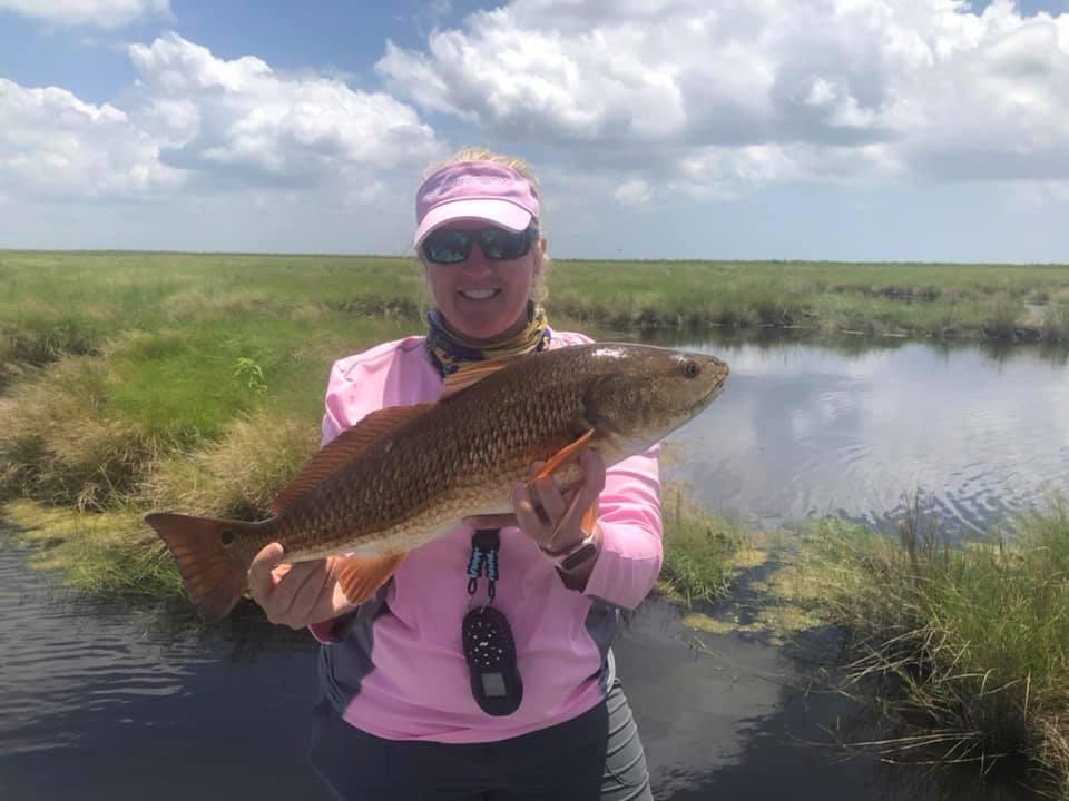 Stacy Fretina Fishing